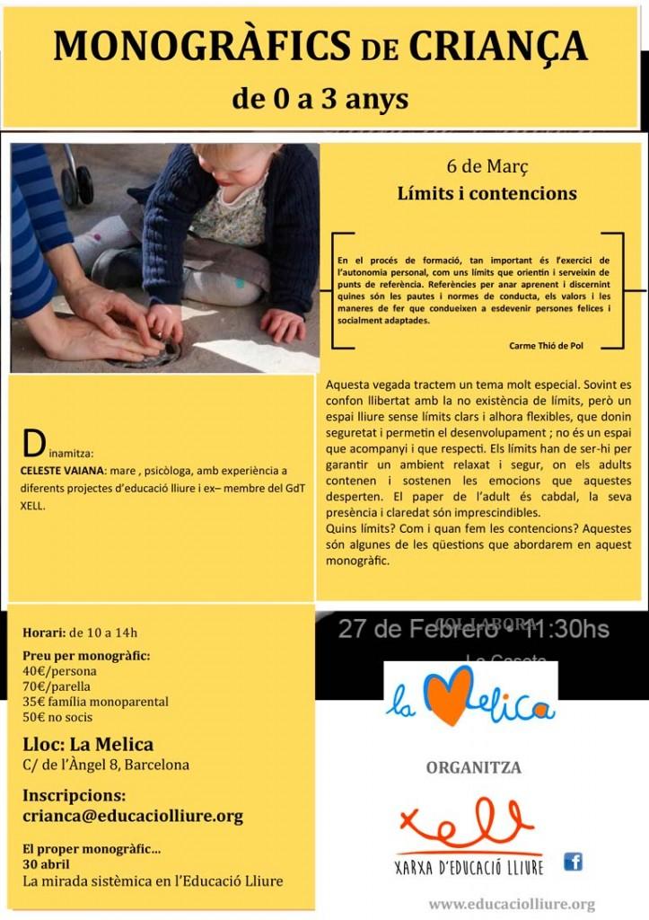 Nuevo Monográfico de Crianza: Los limites y las contenciones.